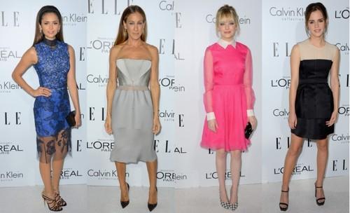 Modă: Rochii superbe la gala Elle Women!