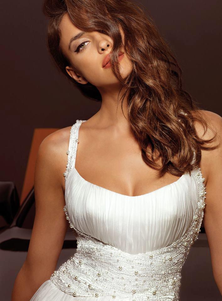 Irina Shayk: colectie de modele superbe rochii Alessandro Angelozzi