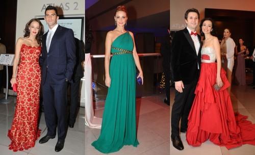 Festivalul Brazilor de Crăciun 2012: modele de  rochii superbe purtate vedetele!