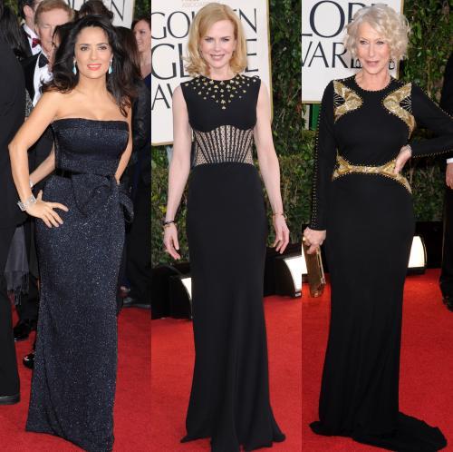 Vedete in negru la Globurile de Aur 2013 – vezi pe BlogModele