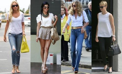 Bluza albă, un articol versatil – vezi cum să o porţi în 4 stiluri diferite pe BlogModele