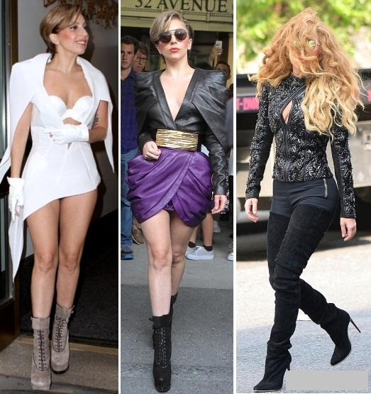 Fashion Icon: Lady Gaga, 10 tinute casual