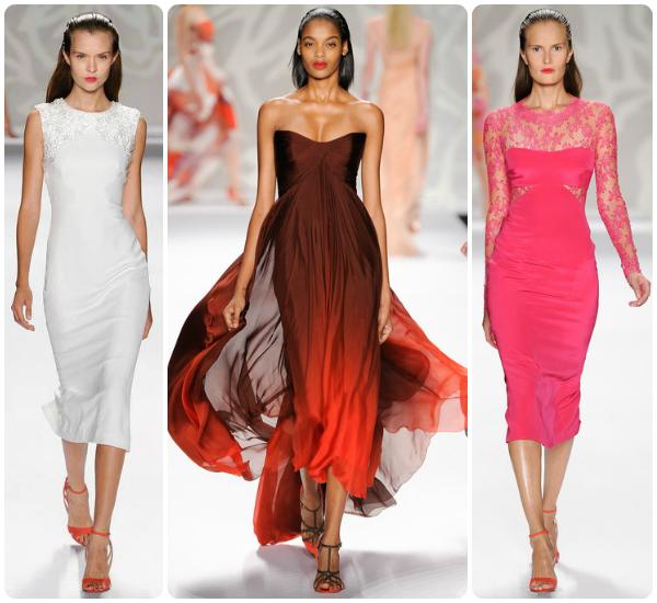 Colecția Monique Lhuillier, moda primăvară/vară 2014