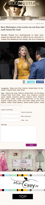 BlogModele isi lanseaza si varianta mobila a site-ului