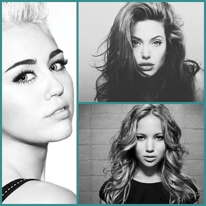 Cele mai populare celebrități în 2013
