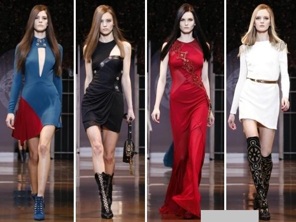 Colecția Versace toamnă/iarnă 2014