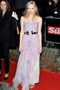 amanda seyfried rochie Alexander McQueen