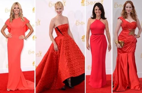 Rosu la putere la premiile Emmy!