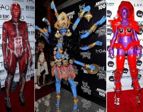 Heidi Klum – transformari celebre de Halloween