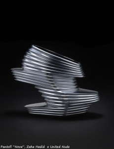 pantofi Zaha Hadid