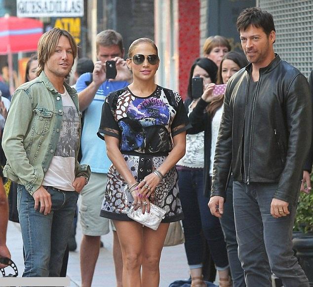 jennifer-lopez la American Idol 2