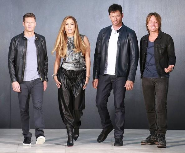 jennifer-lopez la American Idol
