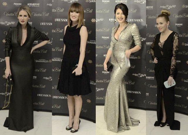 Vedetele noastre in tinute glamouroase la Venetial Ball