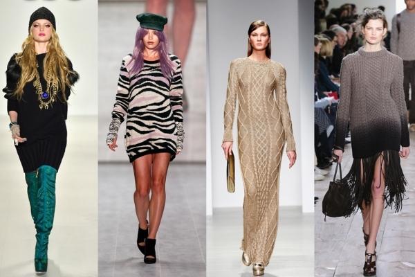 Trend-ul iernii 2015 – rochia pulover!