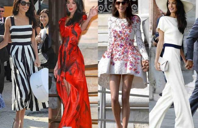 Style Icon : Amal Alamuddin