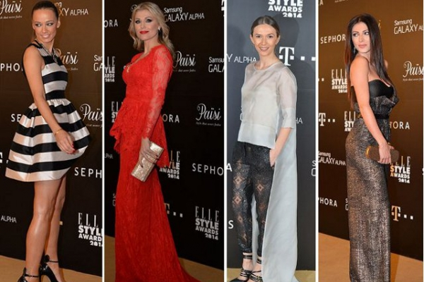Vedete autohtone in tinute spectaculoase la Elle Style Awards
