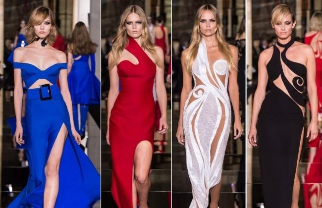 Colecţia de primăvară vară a casei de modă Versace 1
