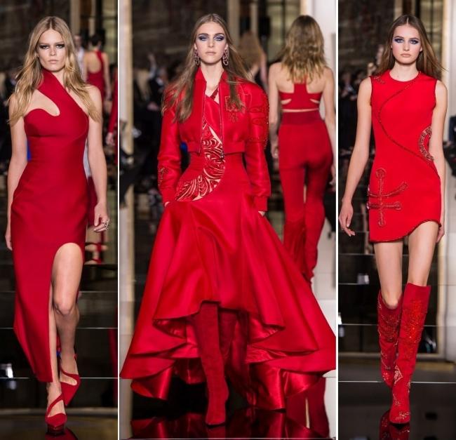 Colecţia de primăvară vară a casei de modă Versace 3