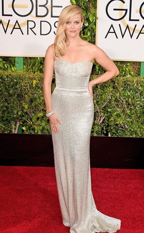 Reese Witherspoon la globurile de aur 2015