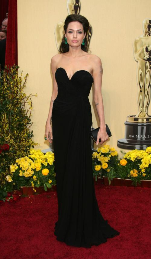 Angelina Jolie-2009-rochie Elie Saab
