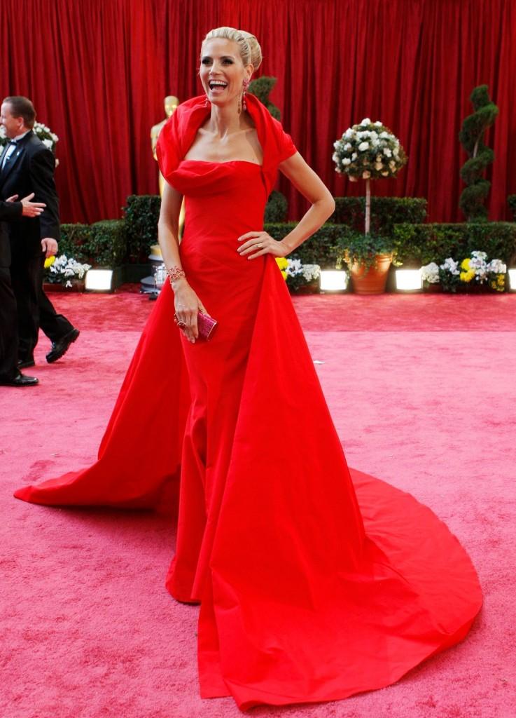 Heidi Klum-2008-rochie John Galliano