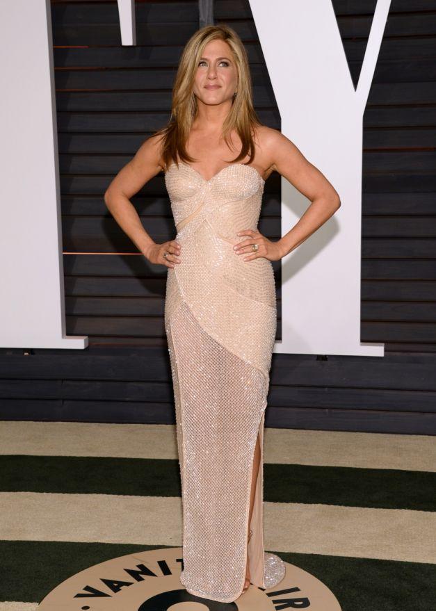 Jennifer Aniston rochie Versace