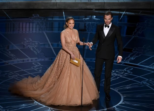 Jennifer Lopez creatie Elie Saab