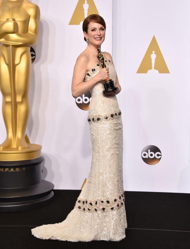 Julianne Moore rochie Chanel