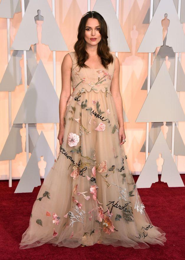 Keira Knightley rochie Valentino