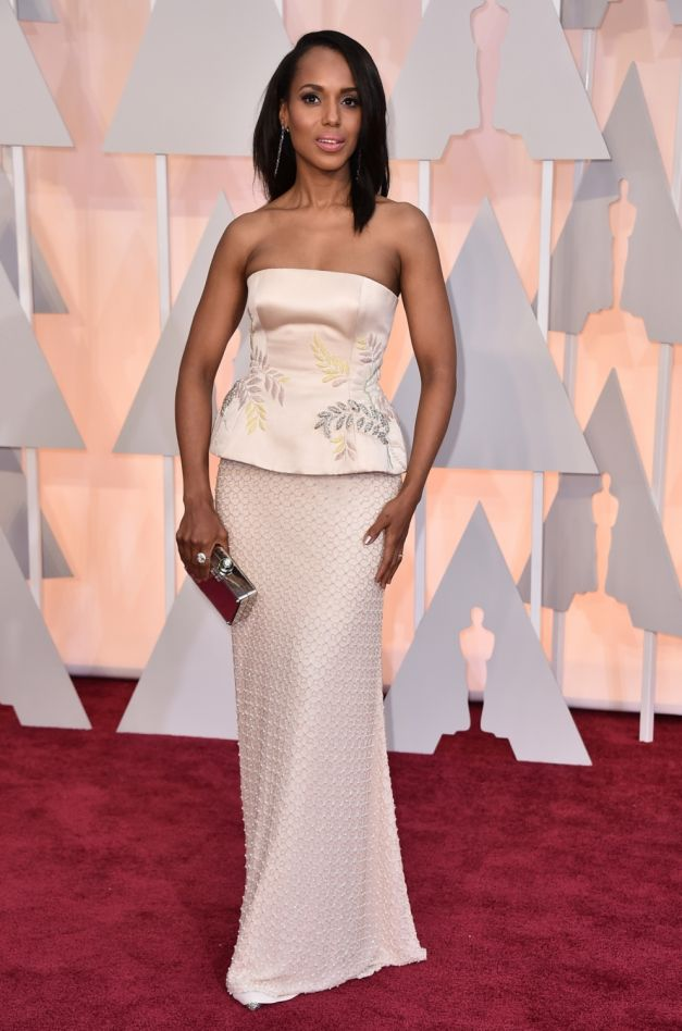 Kerry Washington rochie Miu Miu