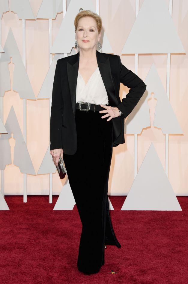 Meryl Streep tinuta Lanvin