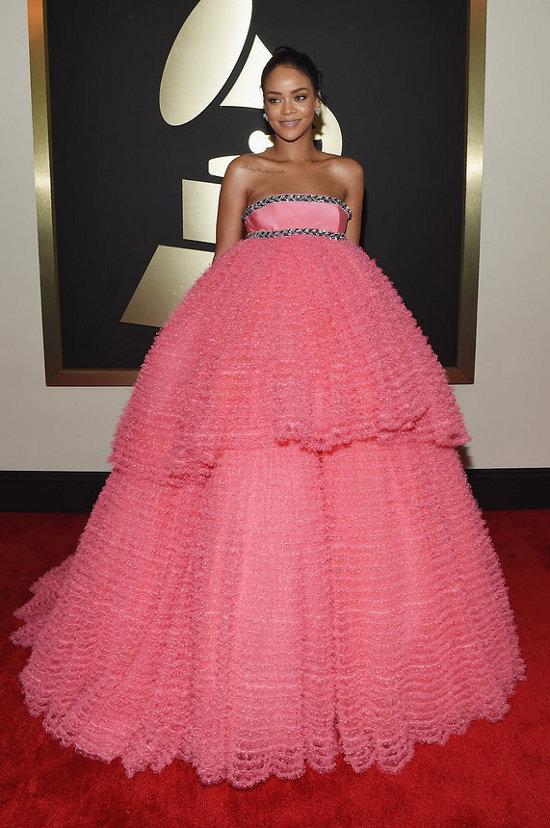 Rihanna (Giambattista Valli Haute Couture)