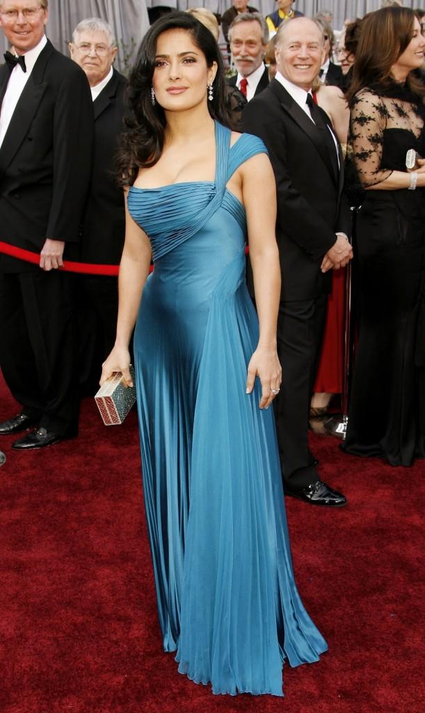 Salma Hayek-2006-rochie Versace
