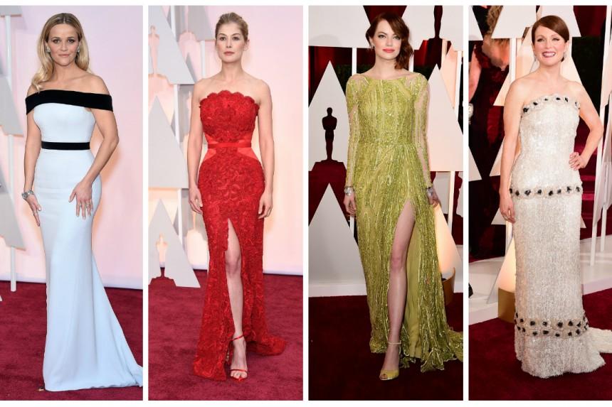 Cel mai bine îmbrăcate vedete de la Oscar 2015