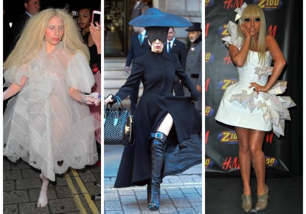 Stilul vestimentar al cantaretei Lady Gaga 0