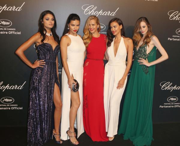 Vedetele la petrecerea Chopard de la Cannes