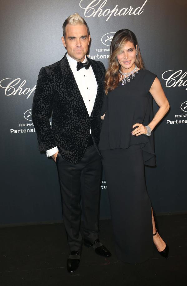Robbie Williams si Ayda Field