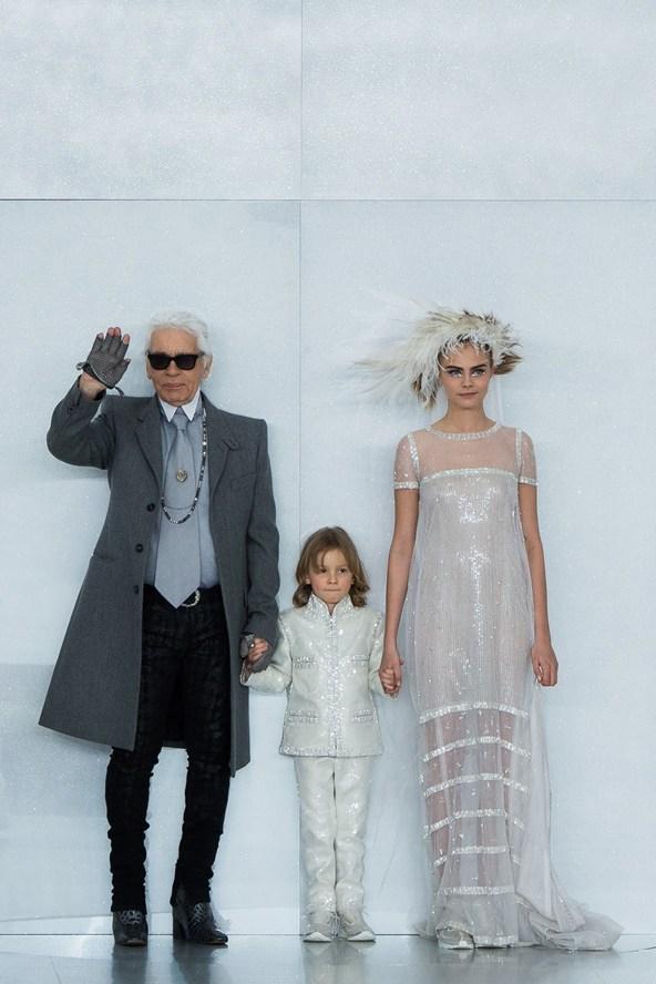 Karl Lagerfeld lansează o linie pentru copii