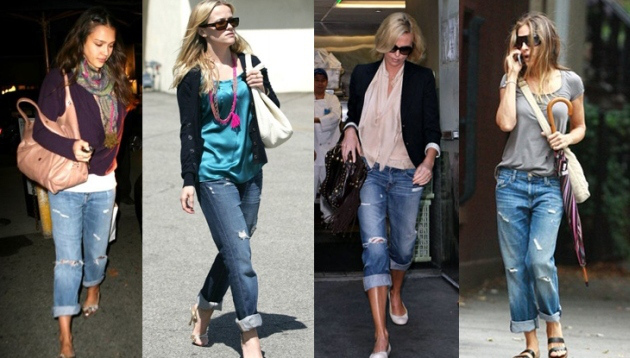 Boyfriend Jeans, un must have in garderoba voastra