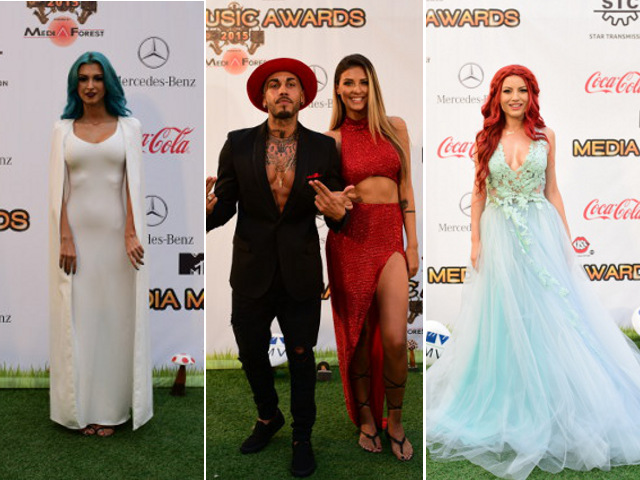 Green Carpet  la Media Music Awards 2015!
