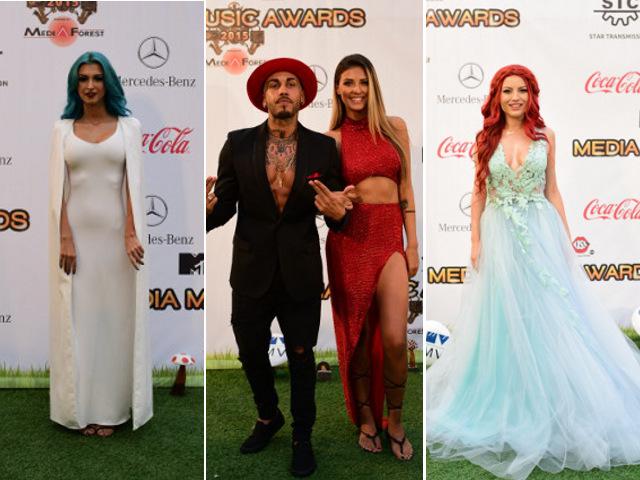 Green Carpet  la Media Music Awards 2015!