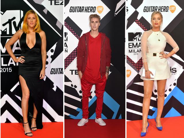 Cum s-au imbracat vedetele la MTV EMA 2015
