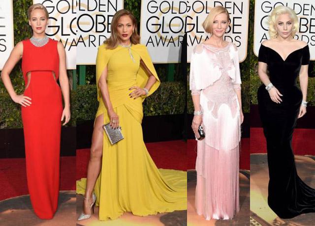 Aparitii vestimentare spectaculoase pe covorul rosu al ceremoniei Golden Globes 2016