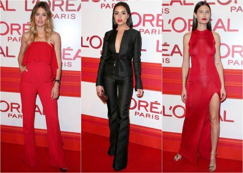 Ladies in red la petrecerea L'Oreal