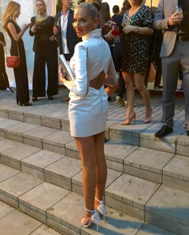 Ileana Badiu, in vestimentatie Stephan Pelger