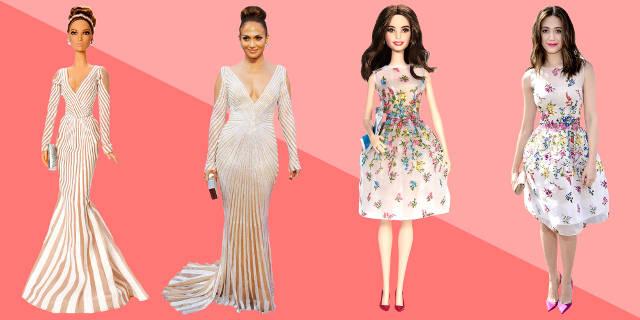 Vedete transformate in papusi Barbie