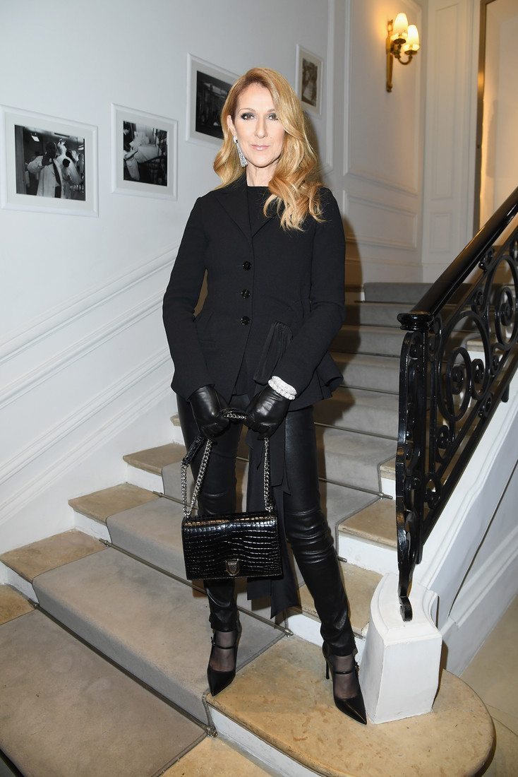 Celine Dion stilata la  Paris Fashion Week