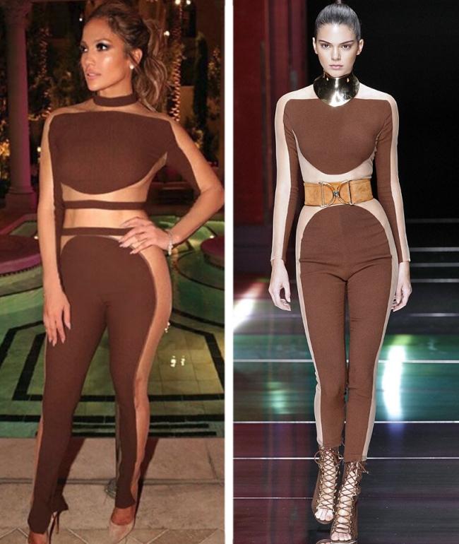 Jennifer Lopez vs  Kendall Jenner