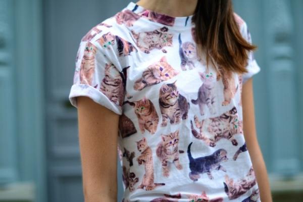 Un trend nou – imprimeurile cu feline
