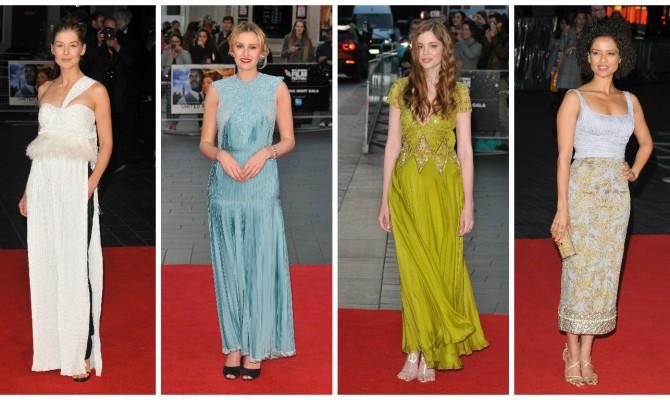 Ținute glamouroase purtate la Festivalul de Film din Londra